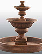Formal Garden Fountain #2072F7