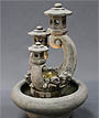 Garden Lantern Fountain #2110-F