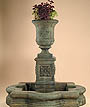 Chambers Fountain w/Quatrefoil Basin #2112-FAWQ