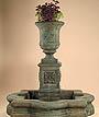Chambers Fountain w/Quatrefoil Basin #2112-FAWQ