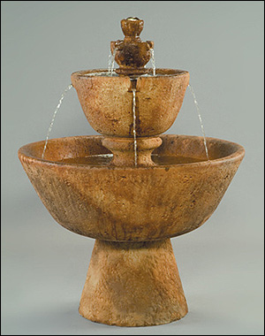 Tuscan Garden Fountain #2122-F :  garden outdoor tiered fountain