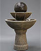 Zen Fountain, Tall, 2-Tier #2127-FT2