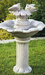 Classical Doves of Love Fountain #3365 basin #2089-f7