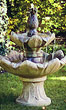 Classic Pineapple Fountain #3432 basin #2089-f7