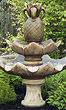 Two Tier Pineapple on Tulip Leaf Fountain #3386 basin #2089-f7