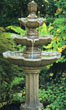Three Tier Classical Fountain #3408 basin #2089-f7