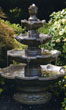 Small Four Tier Fountain #3415 basin #2089-f7