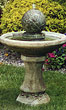 40&quot; Ivy Sphere Fountain #3436 basin #2089-f7