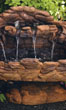 "25"" Slate Fountain #3438 basin #2089-f7"