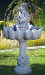"53"" Dolphin Fountain #3458 basin #2089-f7"
