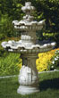 Two Tier Renault Fountain #3482 basin #2089-f7