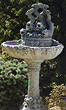 "52"" Fish Quartet Fountain #3483 basin #2089-f7"