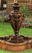 Tivoli Urn Fountain #3497 basin #2089-f7