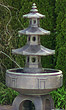 "80"" 3-Tier Pagoda Fountain #3499 basin #2089-f7"