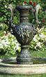 "40"" Angel Urn Fountain #3519 basin #2089-f7"