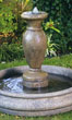 Small California Urn Fountain #3522 basin #2089-f7