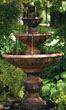 "78"" Four Tier Sonoma Fountain #3537 basin #2089-f7"
