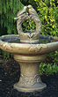 Nesting Birds on Vine Bowl Fountain #3540 basin #2089-f7