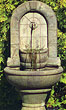 Stone Garden Spigot Fountain #3542 basin #2089-f7
