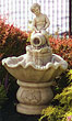 Cherub & Urn Fountain #3547 basin #2089-f7