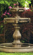Classic Lion Head Fountain with Pool #3552 basin #2089-f7