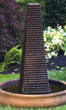 Obelisk Mod Fountain #3562 basin #2089-f7