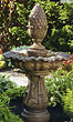 One-Tier Large Pineapple Fountain #3565 basin #2089-f7