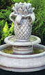 Classic Pool Pineapple Fountain #3572 basin #2089-f7
