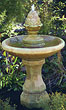 One Tier Roman Pinecone Fountain #3573 basin #2089-f7