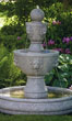 "62"" Gabriel Lion Head Fountain On Pool #3586 basin #2089-f7"