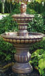 Isabella Tier Fountain #3595 basin #2089-f7