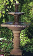58&quot; Sedona Square Fountain #3603 basin #2089-f7