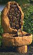 Asian Stone Work Fountain #3608 basin #2089-f7
