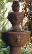 "59"" Two Tier Gabriel Fountain #3613 basin #2089-f7"