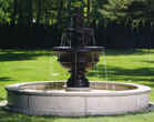 Pozilli Fountain on 8' Pool #3618