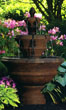 "61"" Pozzilli Fountain #3621 basin #2089-f7"