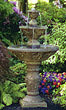Three Tier Harvest Fountain #3624 basin #2089-f7