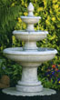 50&quot; Three Tier Picasso Fountain #3627 basin #2089-f7