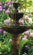 Three Tier Harvest Fountain #3628 basin #2089-f7