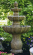 "54"" Mirabella Scallop Fountain #3631 basin #2089-f7"