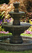Three Tier Harvest Pool Fountain #3638 basin #2089-f7