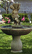 "53"" Classico Cherub Fountain #3639 basin #2089-f7"