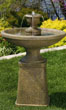 "45"" Two Tier Oval Molise Fountain #3653 basin #2089-f7"