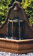 """40"""" Torusso Arch Wall Fountain #3656 basin #2089-f7"""