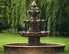 Three Tier Renault Fountain on 8' Pool  #3668