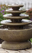 4-Tier Gozo Fountain on Petal Pool #3671 basin #2089-f7