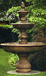 Monticello Fountain #3689 basin #2089-f7