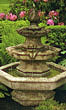 Three Tier Spade Fountain #3705 basin #2089-f7