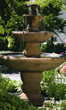 Three Tier Lane Fountain #3795 basin #2089-f7