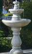 Two Tier Lane Fountain #3820 basin #2089-f7